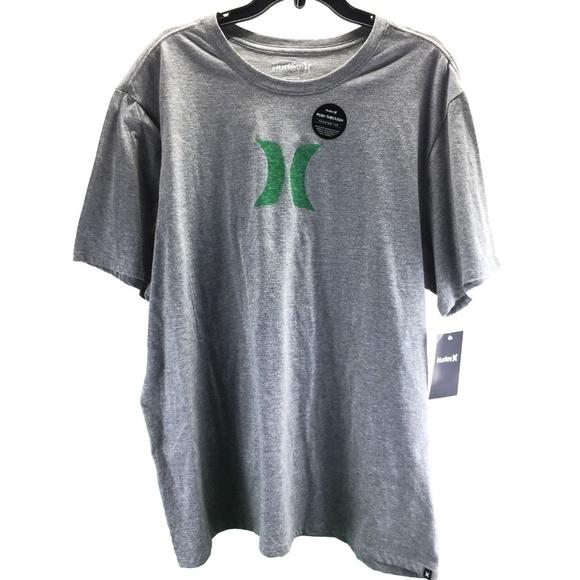 7c3d32ed3d3 Hurley Icon Push Thru Premium Short-Sleeve T-Shirt